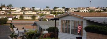 Manufactured Homes in a sea side lot